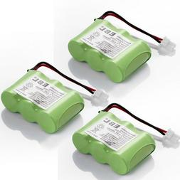 EBL 3 Pack Rechargeable Cordless Phone Batteries for Home Ph