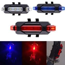 RECHARGEABLE Micro USB flash LED Bicycle Bike Frame Waterpro