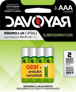 Rayovac Rechargeable Nickel Metal Hydride AAA 1.2 Volt Batte