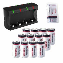 8 16 cr123a batteries rechargeable lithium ion