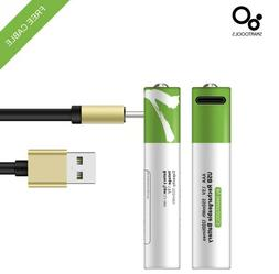 Rechargeable USB Li-Ion Battery with Type C Port Cable AA-AA