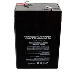 Replacement 6V Battery for Hello Kitty 6V Kids Ride On Toy C