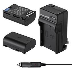 Powerextra 2 Pack High Capacity Replacement Battery and Char