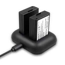 LP-E10 ENEGON Replacement Battery  and Rapid Dual Charger fo