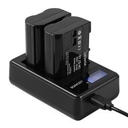 Bonacell 2 Pack 2000mAh Replacement Nikon EN-EL15 Battery an