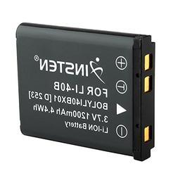Insten Replacement Battery for Olympus Li-40B Li-42B/Fuji NP