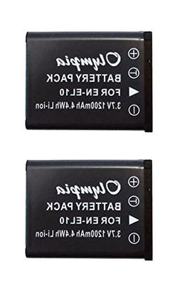 2 Pack of Replacement Sanyo DS5370 Battery for Digital Camer