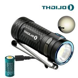 OLIGHT S1 MINI HCRI 450 Lumens LED EDC Flashlight w/USB Rech