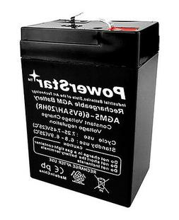 6v 5ah rechargeable sealed lead acid battery