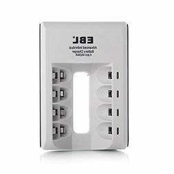 EBL Smart Individual Household Battery Charger For AA AAA Ni
