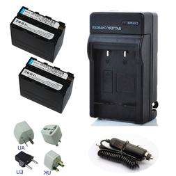For Sony Handycam NPF970 Rechargeable Battery / Charger Lith