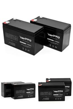 Expertpower Standard 12V 7Ah Rechargeable Sla Battery,