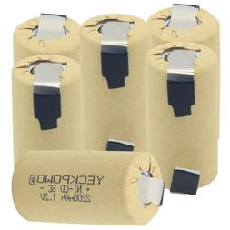YECKPOWO SUB C battery rechargeable SC batteries SUBC nicd 2