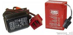 Power Wheels Super 6 Volt Red Battery, 00801-0712