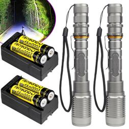 Tactical Police 150000Lumens T6 LED 5 Modes 18650 Flashlight