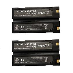 2 Pack of Trimble 54344 Battery - Replacement for Trimble TR