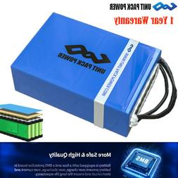 U.P.P Rechargeable Lithium Battery Pack 48V 20Ah Electric Sc
