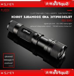 Ultra Bright LED Handheld Flashlight 1100lumens 18650 Rechar