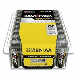 Ultra Pro Alkaline AA Batteries, 48/Pack