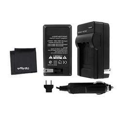 UltraPro Rapid Charger for EN-EL15 Battery w/ 110/240v Car a