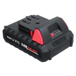 Universal 21V Max 1500mAh Li-ion <font><b>Rechargeable</b></