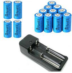 USA 1800mAh 16340 CR123A 3.7V Rechargeable Li-Ion 16340 Batt