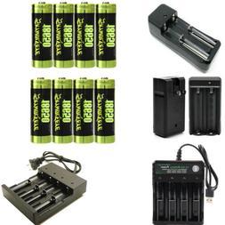 USA 1865@ flashlight headlamp Battery Li-ion 3.7V Rechargeab