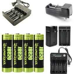USA Skywolfeye 18650 Battery 18650 Li-ion 3.7V Rechargeable
