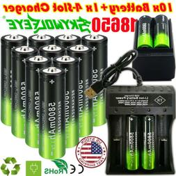 usa 18650 battery 5800mah li ion 3