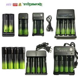 usa 5800mah rechargeable 18650 battery 3 7v