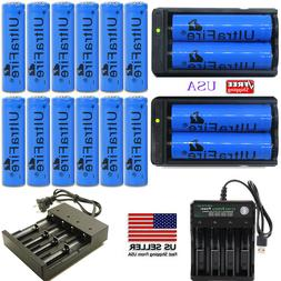 USA Rechargeable Battery Flashlight Battery Headlamp Battery
