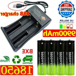 USB Dual Charger Battery Smart Charger For 3.7v Rechargeable