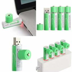 USB Rechargeable AA Lithium Ion Batteries 1.5V/1000Mah Pack