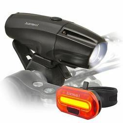 Lumintrail Bike Light 1000 Lumen USB Rechargeable LED Headli