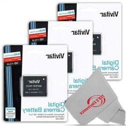 Vivitar VIV-CB-11LH Li-On Rechargeable Replacement Battery f