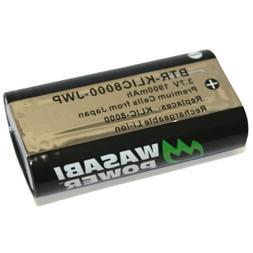 Wasabi Power Battery for Kodak KLIC-8000, KLIC8000 and Kodak