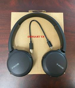 Sony Stamina Wireless On Ear Headphones Black