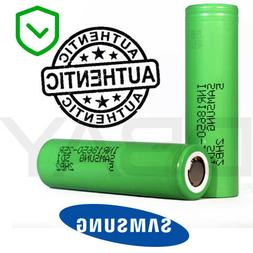Samsung Wholesale INR18650 25R Lithium Flat Top Battery 3.7v