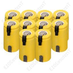 Wholesale NEW Yellow 1300mAh 1.2V SubC SC Ni-Cd Household Re