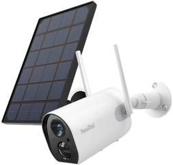 Wireless Outdoor Security Camera WiFi Solar Rechargeable Bat