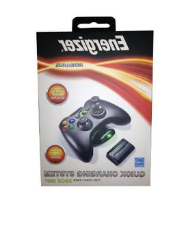 Xbox 360 Energizer Charging System w/ 1 Battery Pack - Black