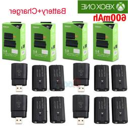 For Xbox One Controller 8x Rechargeable Battery Pack +Charge