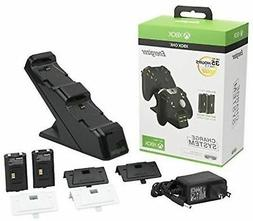 Xbox One Controller Charger Dual Battery Remote Control Dock