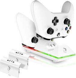 Sliq Xbox One/One X/One S Controller Charger Station and Bat