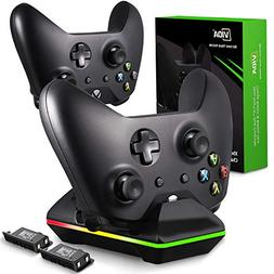 Xbox One Controller Charger, CVIDA Dual Xbox One/One S/One E