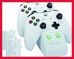 Xbox One Twin Docking Station W 2 X Rechargeable Battery Pac