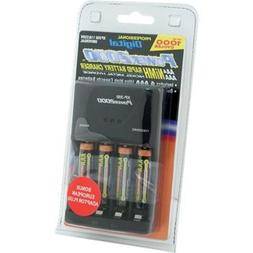 Power 2000 XP350-11 AAA Charger with 4 Rechargeable Batterie