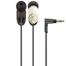 Yamaha canal type earphone Standard type white EPH-22  domes